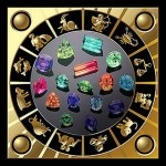 Астрологическая классификация камней и металлов