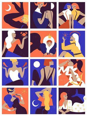 Женские знаки Зодиака в любви и флирте